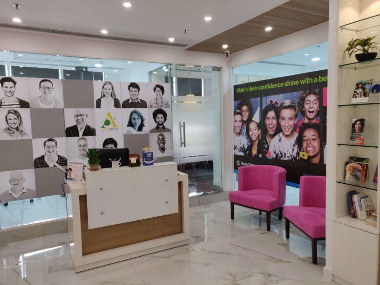 Aspen Dental Clinic Reception